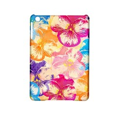 Colorful Pansies Field Ipad Mini 2 Hardshell Cases by DanaeStudio