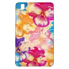 Colorful Pansies Field Samsung Galaxy Tab Pro 8 4 Hardshell Case by DanaeStudio