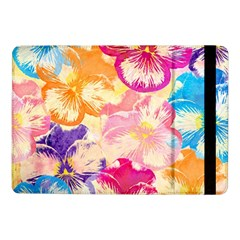 Colorful Pansies Field Samsung Galaxy Tab Pro 10 1  Flip Case