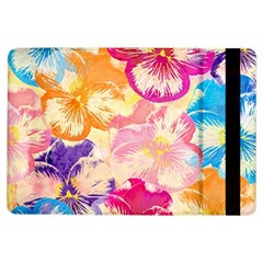 Colorful Pansies Field Ipad Air Flip