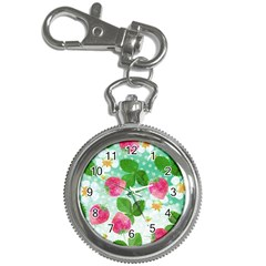 Cute Strawberries Pattern Key Chain Watches by DanaeStudio