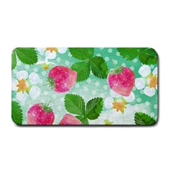 Cute Strawberries Pattern Medium Bar Mats by DanaeStudio