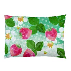 Cute Strawberries Pattern Pillow Case