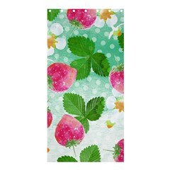 Cute Strawberries Pattern Shower Curtain 36  X 72  (stall)  by DanaeStudio