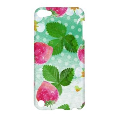 Cute Strawberries Pattern Apple Ipod Touch 5 Hardshell Case