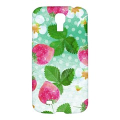 Cute Strawberries Pattern Samsung Galaxy S4 I9500/i9505 Hardshell Case