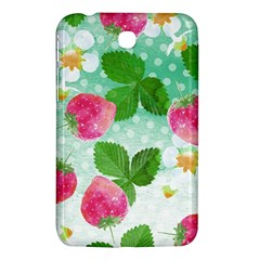 Cute Strawberries Pattern Samsung Galaxy Tab 3 (7 ) P3200 Hardshell Case
