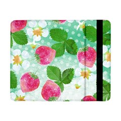 Cute Strawberries Pattern Samsung Galaxy Tab Pro 8 4  Flip Case by DanaeStudio