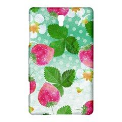 Cute Strawberries Pattern Samsung Galaxy Tab S (8 4 ) Hardshell Case