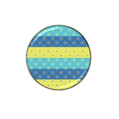 Hexagon And Stripes Pattern Hat Clip Ball Marker (10 Pack) by DanaeStudio