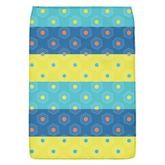 Hexagon And Stripes Pattern Flap Covers (s)  by DanaeStudio
