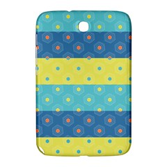 Hexagon And Stripes Pattern Samsung Galaxy Note 8 0 N5100 Hardshell Case