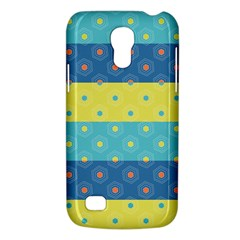 Hexagon And Stripes Pattern Galaxy S4 Mini
