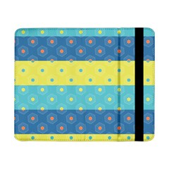 Hexagon And Stripes Pattern Samsung Galaxy Tab Pro 8 4  Flip Case by DanaeStudio