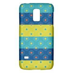 Hexagon And Stripes Pattern Galaxy S5 Mini by DanaeStudio
