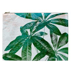 Pachira Leaves  Cosmetic Bag (xxl)
