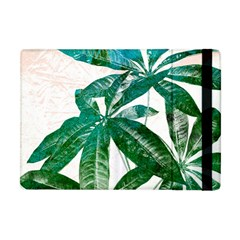 Pachira Leaves  Apple Ipad Mini Flip Case