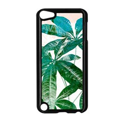 Pachira Leaves  Apple Ipod Touch 5 Case (black)
