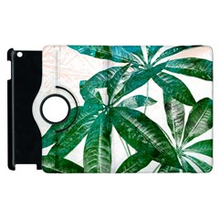 Pachira Leaves  Apple Ipad 2 Flip 360 Case by DanaeStudio