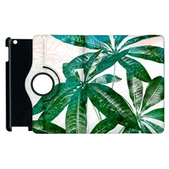 Pachira Leaves  Apple Ipad 3/4 Flip 360 Case