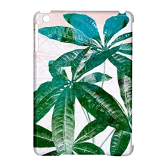 Pachira Leaves  Apple Ipad Mini Hardshell Case (compatible With Smart Cover)