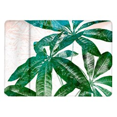 Pachira Leaves  Samsung Galaxy Tab 10 1  P7500 Flip Case