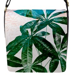 Pachira Leaves  Flap Messenger Bag (s)
