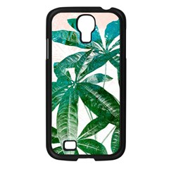 Pachira Leaves  Samsung Galaxy S4 I9500/ I9505 Case (black)
