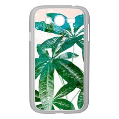 Pachira Leaves  Samsung Galaxy Grand Duos I9082 Case (white)
