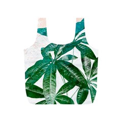 Pachira Leaves  Full Print Recycle Bags (s)