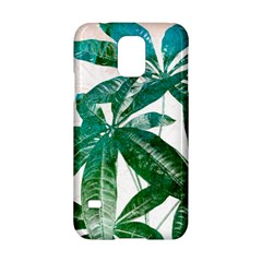 Pachira Leaves  Samsung Galaxy S5 Hardshell Case