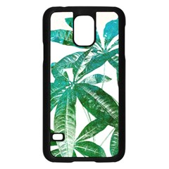 Pachira Leaves  Samsung Galaxy S5 Case (black)