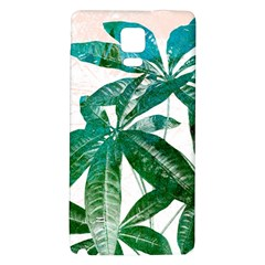 Pachira Leaves  Galaxy Note 4 Back Case