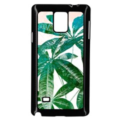 Pachira Leaves  Samsung Galaxy Note 4 Case (black) by DanaeStudio