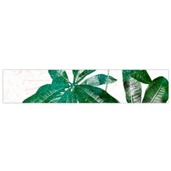 Pachira Leaves  Flano Scarf (small)