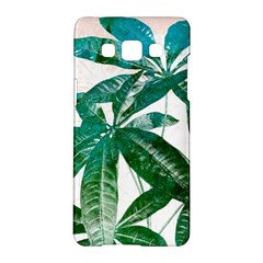 Pachira Leaves  Samsung Galaxy A5 Hardshell Case