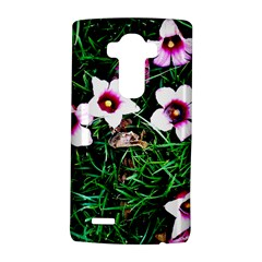 Pink Flowers Over A Green Grass Lg G4 Hardshell Case
