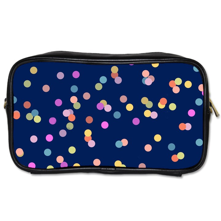 Playful Confetti Toiletries Bags 2-Side