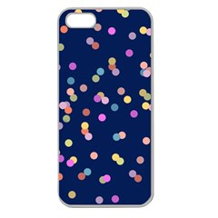 Playful Confetti Apple Seamless Iphone 5 Case (clear) by DanaeStudio