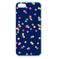 Playful Confetti Apple Seamless Iphone 5 Case (color) by DanaeStudio