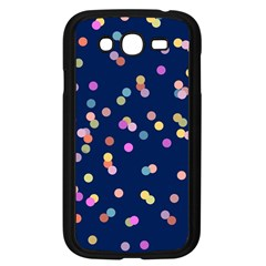Playful Confetti Samsung Galaxy Grand Duos I9082 Case (black) by DanaeStudio