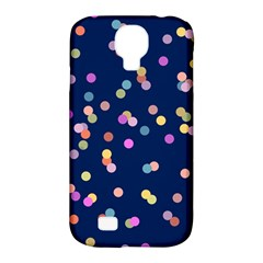 Playful Confetti Samsung Galaxy S4 Classic Hardshell Case (pc+silicone) by DanaeStudio