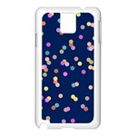 Playful Confetti Samsung Galaxy Note 3 N9005 Case (White) Front