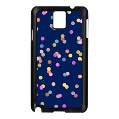 Playful Confetti Samsung Galaxy Note 3 N9005 Case (black)