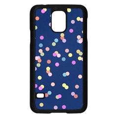 Playful Confetti Samsung Galaxy S5 Case (black)