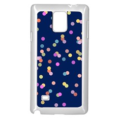 Playful Confetti Samsung Galaxy Note 4 Case (white)