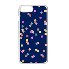 Playful Confetti Apple Iphone 7 Plus White Seamless Case