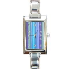 Provence Fields Lavender Pattern Rectangle Italian Charm Watch by DanaeStudio