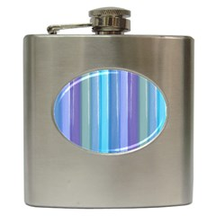 Provence Fields Lavender Pattern Hip Flask (6 Oz)