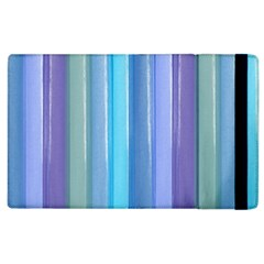 Provence Fields Lavender Pattern Apple Ipad 2 Flip Case by DanaeStudio